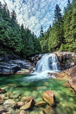 Photograph - Lower Falls In Golden Ears Park by Pierre Leclerc Photography