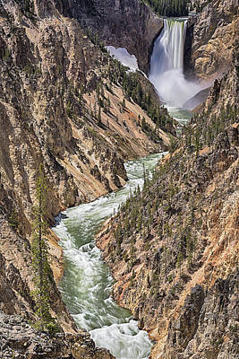 Photograph - Lower Falls by John Gilbert