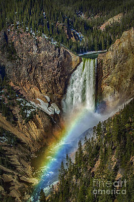 Photograph - Lower Falls Magic by Sonya Lang