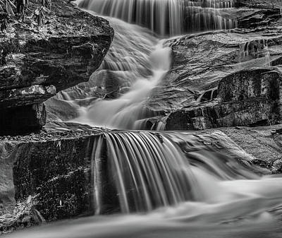 Photograph - Lower Falls Of Tripel Falls In Dupont State Forset by Donnie Whitaker