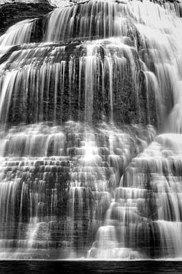 Finger Lakes Photograph - Lower Falls #5 by Stephen Stookey