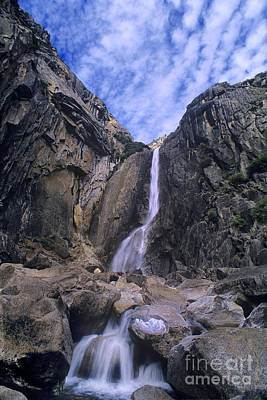 Photograph - Lower Falls Yosemite National Park California by Dave Welling