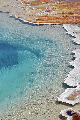 Photograph - Lower Geyser Basin 14 by Jeff Brunton