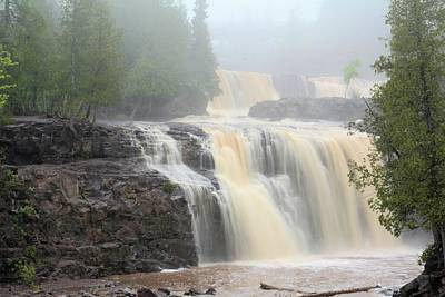 Photograph - Lower Gooseberry Falls by Bonfire Photography