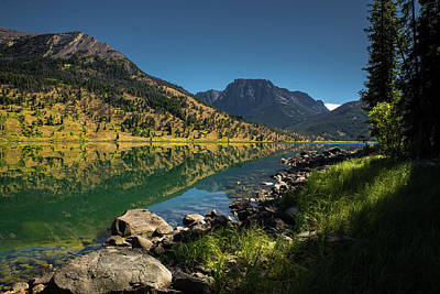 Photograph - Lower Green River Lake by Michael Balen