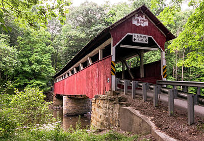 Photograph - Lower Humbert Covered Bridge by Steven Richman