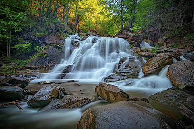 Photograph - Lower Kaaterskill Falls II by Rick Berk