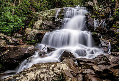 Photograph - Lower Laurel Falls by Cathie Crow