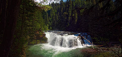 Photograph - Lower Lewis Falls by Thomas Hall