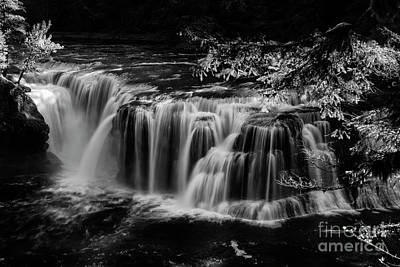 Photograph - Lower Lewis Falls Washington State by Bob Christopher