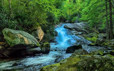 Wall Art - Photograph - Lower Lynn Camp Falls Smoky Mountains by Martin Belan
