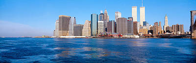 Lower Manhattan, East River, New York Art Print by Panoramic Images