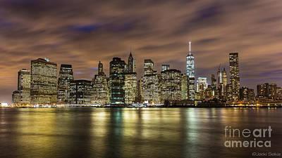 Photograph - Lower Manhattan Iconic Skyline Isn't It Just Mesmerizing by Jacki Soikis