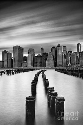City Scape Photograph - Lower Manhattan by John Farnan