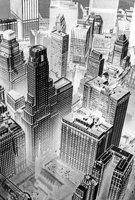 Lower Manhattan Art Print