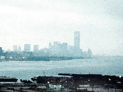 Painting - Lower Manhattan by Paul Sachtleben