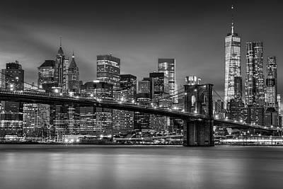 Photograph - Lower Manhattan Skyline by Mihai Andritoiu