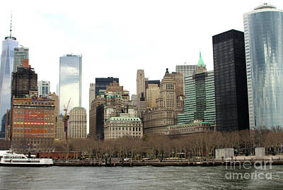 Photograph - Lower Manhattan Skyline - Ny by Doc Braham