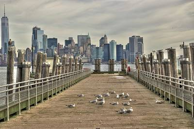 Photograph - Lower Manhattan by Timothy Lowry