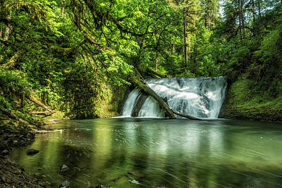 Photograph - Lower North Falls by Belinda Greb