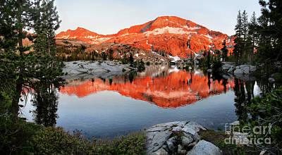 Vermeer Rights Managed Images - Lower Ottoway Lake Sunset - Yosemite Royalty-Free Image by Bruce Lemons
