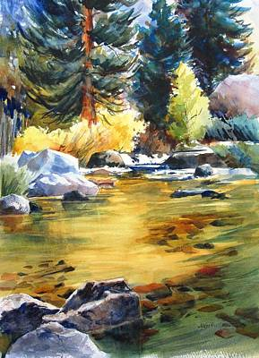 Painting - Lower Rock Creek Sparkle by Lynn Marit Peterson