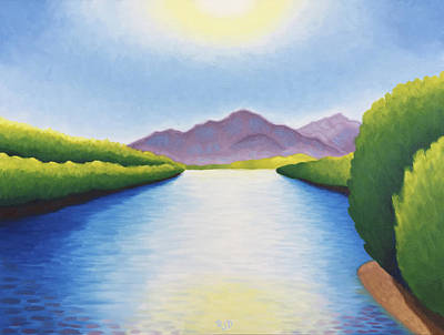 Painting - Lower Salt River by Robert J Diercksmeier