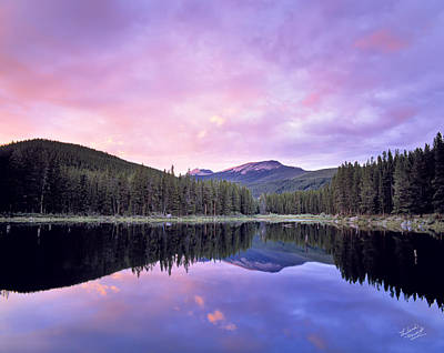 Photograph - Lower Seymor Lake by Leland D Howard