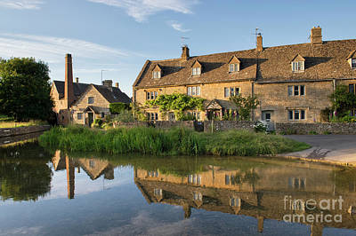 Water Mill Photograph - Lower Slaughter by Tim Gainey