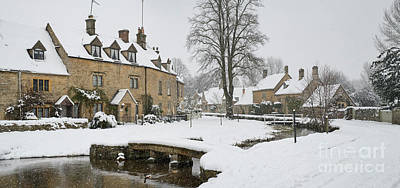 Photograph - Lower Slaughter Winter by Tim Gainey
