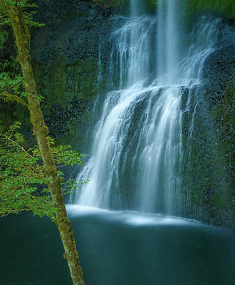 Photograph - Lower South Falls by Don Schwartz