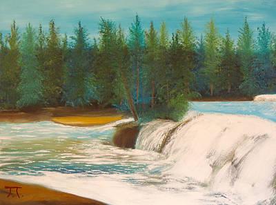 Lower Tahquamenon Falls Original by Troy Thomas