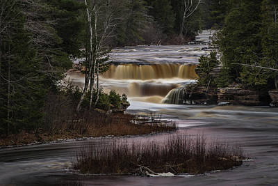 Photograph - Lower Tahquamenon Falls by William Christiansen