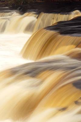 Lower Tahquemenon Falls Art Print by Amanda Kiplinger