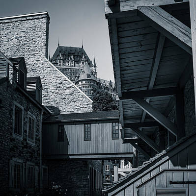 Photograph - Lower Town Back Alley  by Chris Bordeleau