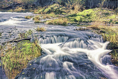 Photograph - Lower Tumwater Falls by Jean OKeeffe Macro Abundance Art