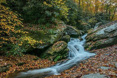 Photograph - Lower Upper Creek Falls by Chris Berrier
