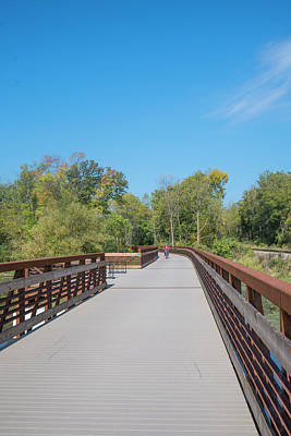 Photograph - Lower Yahara River Trail 5 - Madison - Wisconsin by Steven Ralser