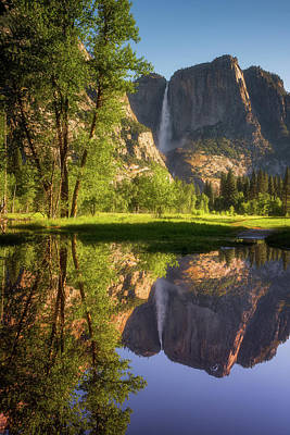 Yosemite Falls Photograph - Lower Yosemite Morning by Darren White