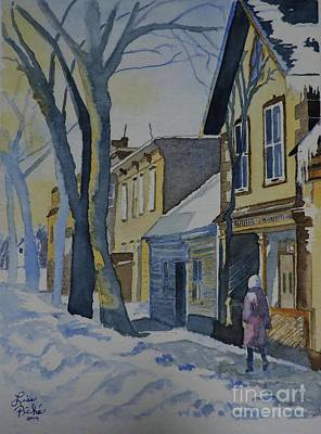 Lowertown Painting - Lowertown Scene No. 1 by Lise PICHE