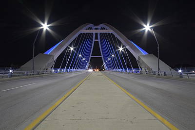 Photograph - Lowery Street Bridge by Steven Liveoak