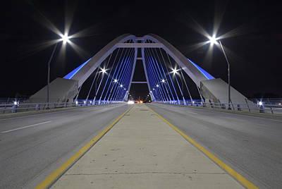 Photograph - Lowery Street Bridge by Steven Liveoak