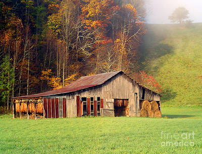 Photograph - Lowes Barn by Annlynn Ward