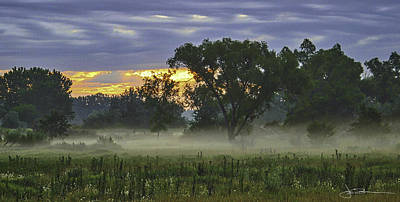 Photograph - Lowlands Morning by Jim Bunstock