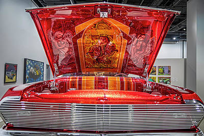 Photograph - Lowrider - 1963 Chevy Impala by Gene Parks