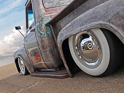 Photograph - Lowrider - F100 Rear by Gill Billington