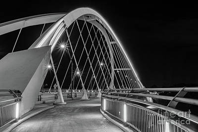 Photograph - Lowry Avenue Bridge by Iryna Liveoak