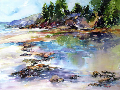 Painting - Lowtide, Bayview by Rae Andrews