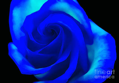 Flower Abstract Photograph - Loyalty by Krissy Katsimbras