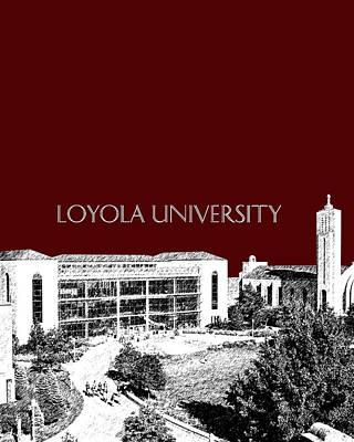 Digital Art - Loyola University Version 3 by DB Artist